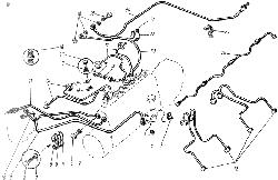 ЯМЗ 238 М Топливопроводы