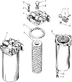 ЯМЗ 238 М Фильтр грубой очистки топлива