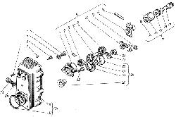 Корпус регулятора частоты вращения ЯМЗ 238 М