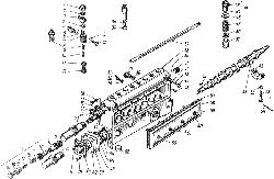 ЯМЗ 238 М Топливный насос высокого давления ТНВД - 80.1111005-20