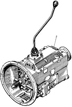 ЯМЗ 238 М Коробка передач