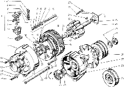 Генератор Г288Е-3701000 ЯМЗ 238 М