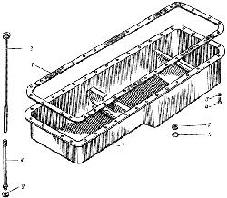 Поддон блока цилиндров ЯМЗ 238 М