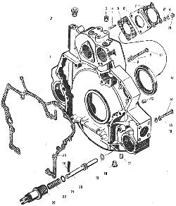 Головка цилиндров ЯМЗ 7601.10