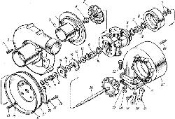 ЯМЗ 7601.10 Трубки подвода и слива масла турбокомпрессора