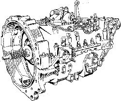 ЯМЗ 7601.10 Коробка передач