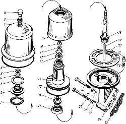 Фильтр центробежной очистки масла ЯМЗ 8421.10