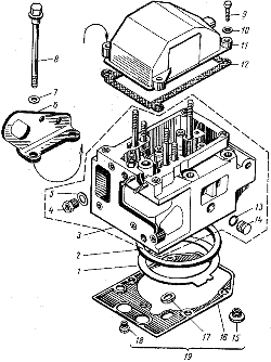 Головка цилиндров ЯМЗ 8421.10