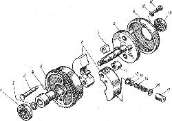 ЯМЗ 8421.10 Трубки подвода и отвода масла турбокомпрессора