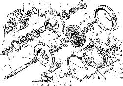 ЯМЗ 8421.10 Гидромуфта привода вентилятора