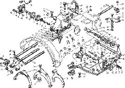 ЯМЗ 8421.10 Механизм переключения передач