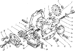 ЯМЗ 8421.10 Масляный насос коробки передач