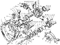 ЯМЗ 8421.10 Картер понижающей передачи