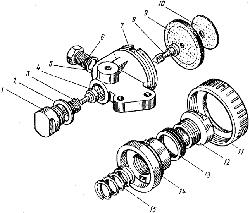 ЯМЗ 8421.10 Редукционный клапан коробки передач