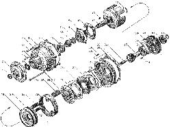ЯМЗ 8424.10 Картер коробки передач