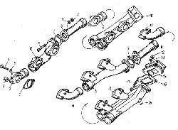 Клапаны и толкатели ЯМЗ 8424.10