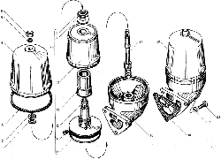 Фильтр центробежной очистки масла ЯМЗ 850.10