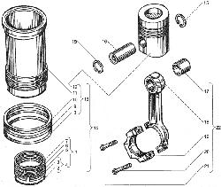 Головка цилиндров ЯМЗ 850.10