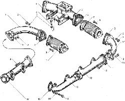 Клапаны и толкатели ЯМЗ 850.10
