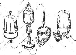 Маслоочиститель центробежный ЯМЗ 238БЕ