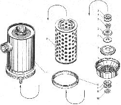 Воздушный фильтр ЯМЗ 238БЕ