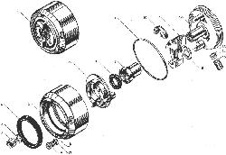 Муфта опережения впрыскивания топлива ЯМЗ 238БЕ
