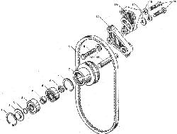 ЯМЗ 238БЕ Устройство натяжное ремня привода водяного насоса