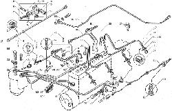 ЯМЗ 238БЕ2 Трубопроводы топливные