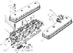 Головка цилиндров ЯМЗ 238БЕ2