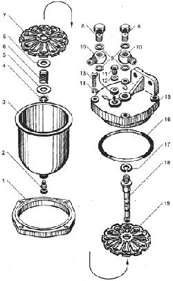 Фильтр грубой очистки топлива для МАЗ ЯМЗ 238БЕ2
