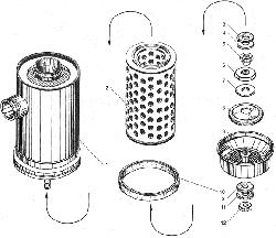 Воздушный фильтр ЯМЗ 238БЕ2