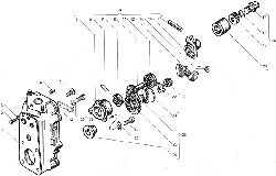 ЯМЗ 238БЕ2 Корпус регулятора чстоты вращения