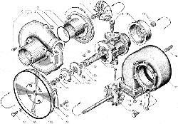 Турбокомпрессор ЯМЗ 238БЕ2