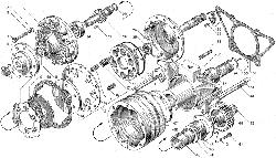 ЯМЗ 238БЕ2 Привод вентилятора