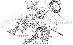 Сцепление ЯМЗ-183 ЯМЗ 238БЕ2
