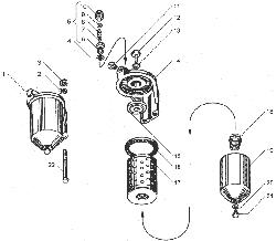 Фильтр тонкой очистки топлива ЯМЗ 238ДЕ