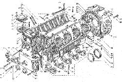 Блок цилиндров  ЯМЗ 238ДЕ-11