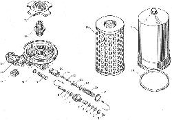 ЯМЗ 238ДЕ-11 Фильтр масляный
