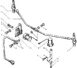 ЯМЗ 238ДЕ-11 Электрофакельное устройство