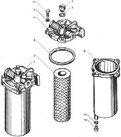 Фильтр грубой очистки топлива для КрАЗ ЯМЗ 238ДЕ-11
