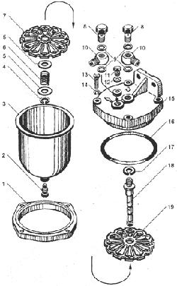 Фильтр грубой очистки топлива для МАЗ ЯМЗ 238ДЕ-11