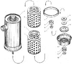 Воздушный фильтр ЯМЗ 238ДЕ-11