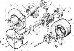 ЯМЗ 238ДЕ-11 Трубки подвода и слива масла турбокомпрессора