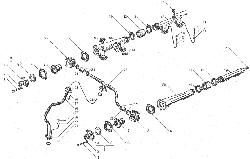 ЯМЗ 238ДЕ-11 Водяные трубы и термостаты системы охлаждения