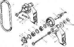 ЯМЗ 238ДЕ-11 Валы и шестерни демультипликатора коробок передач ЯМЗ 239, ЯМЗ 2391