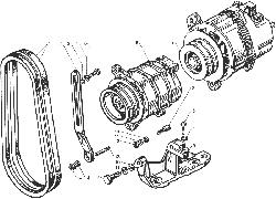 ЯМЗ 238ДЕ-11 Управление механизмом переключения демультипликатора