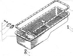 Картер масляный для автомобилей МАЗ ЯМЗ 238ДЕ-11