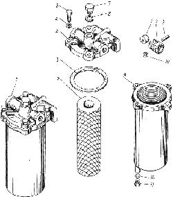 Фильтр грубой очистки топлива ЯМЗ 238 ИМ