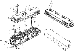 Головка цилиндров ЯМЗ 238 ИМ