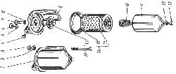 Фильтр тонкой очистки топлива ЯМЗ 238 ИМ